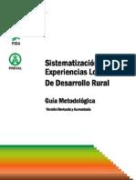 Guia_metodologica Sistematización de Exp Locales de Des. Rural  FIDA