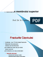 Fracturile Membrului Superior