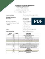 Programa Teoria y Lab Odont i Periodo 2014