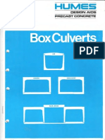 Box Culverts - Humes Booklet