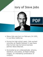 History of Steve Jobs