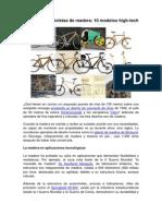 Bicicletas de Madera