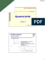 Gjeostatistike Lek 3