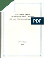 La lenta pero incesante degradación de las cumbias lunáticas, por Ariel Goldsinger (2002)