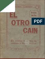 El otro Caín  [extractos] | Manuel A. Bedoya