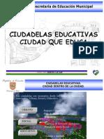Present Ac i on Ciudad El a Educativa