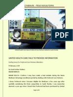 United Health Care Fails in Florida