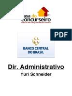 Dir Administrativo - Bacen