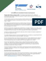 Panama Canal Authority statement | Jan 2, 2014 (English)