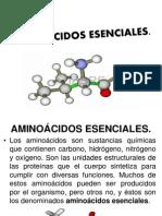 Aminoacidos Esenciales.