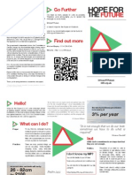 Hope for the Future Leaflet - Printable version