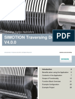 36037374 Slides SIMOTION Traversing Drive V4 0 0