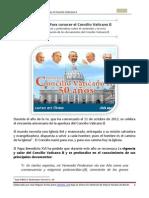 Curso Concilio Vaticano II