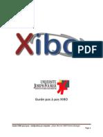 Guide Pas a Pas Xibo