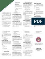 revised 2012 modules brochure