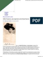 Sofía Casanova, una reportera en la Gran Guerra __ Historia[S] __ Blogs EL PAÍS