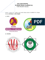 Soal Ujian Praktik Desain Grafis Corel 2013