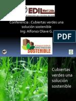 Conferencias Cubiertas Verdes Construferia