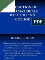 Ball Milling