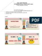 Soal Ujian Praktik Power Point 2013