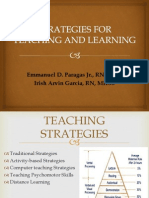 Strategies for Teaching and Learning 2013
