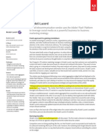 Alcatel Lucent Case Study