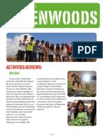 Greenwoods Newsletter 2014 English