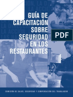 Restaurantsafety Spanish