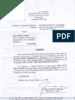 Search Warrant No. 012-09