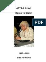 ATTİLA İLHAN-hayatı ve şiirleri_PDF (türkçe kitap ekitap e-kitap TÜRKÇE KİTAP EKİTAP E-KİTAP)