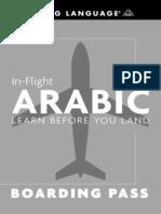 In Flight Arabic