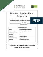 Primera Evaluacion a Distancia TDSI_2013_0