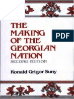 R. G. Suny - The Making of the Georgian Nation (Studies of Nationalities)