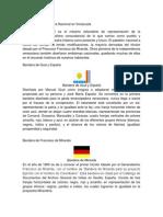 Evolución de la Bandera Nacional en Venezuela