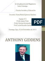 Anthony Giddens
