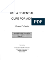 "Heimlich Institute's 1992 ""Immunotherapy for AIDS"" fundraising prospectus"