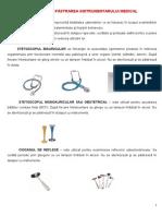 Utilizarea Si Pastrarea Instrumentarului Medical