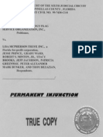 Permanent Injunction against the Lisa McPherson Trust