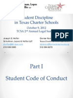 texas legal summit -student discipline slides