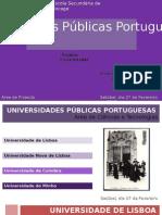 Apresentação Universidades