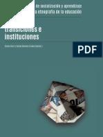 Edades, transiciones e instituciones (2014) | Cerri & Sánchez Criado, Eds.