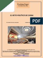 EL RETO POLITICO DE CHINA (Es) THE CHINESE POLITICAL CHALLENGE (Es) TXINAREN ERRONKA POLITIKOA (Es)