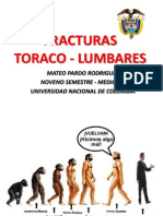 FRACTURAS TORACO LUMBARES
