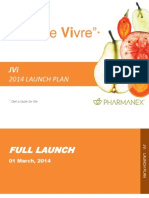 Pharmanex JVi 2014 Launch Plan  Power Point