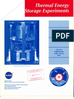 Thermal Energy Storage Experiments Leaflet