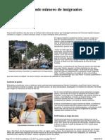 Brasil Atrai Grande Número de Imigrantes Bolivianos - Bolívia Cultural.