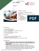 Stir-fry z kaczką i mango - Przepis