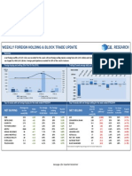 Weekly Foreign Holding & Block Trade__ Update - 07 02 2014