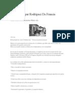 Historia. Dr. Francia
