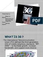 WHAT IS 3G